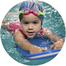 Developing swimming skills and building the health of children...